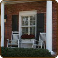 Outdoor shutters enhance your home's appearance.